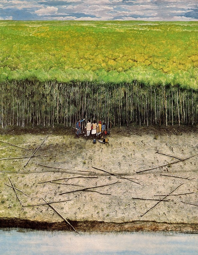 Ukrainian Pioneer No. 3 – Wm Kurelek, 1971-76